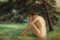 Desnudo en el parque, 1908