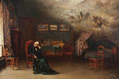 El último sueño del General San Martín, 1900